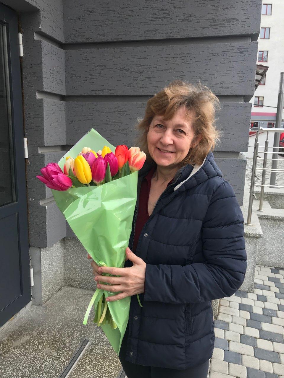 фото товара 15 тюльпанов